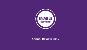 Cover for Annual Review 2012