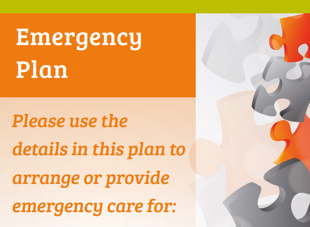 Cover for emergency plan toolkit