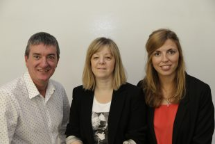 ENABLE Scotland's SDS project team smiling for the camera