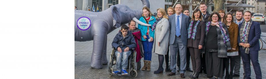 <p>We are a Scottish charity, working to make life better for people who have a learning disability – and their families.</p>