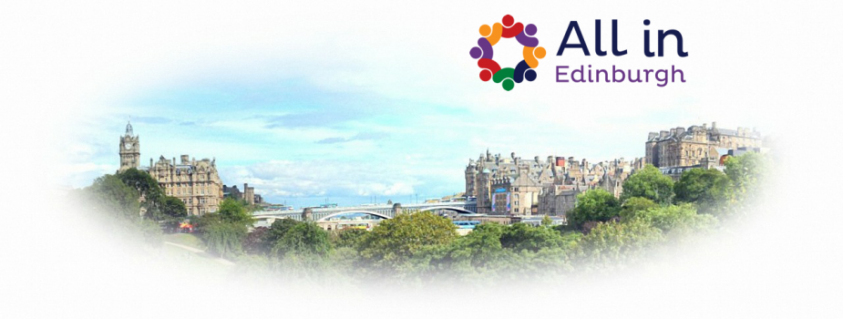 All in Edinburgh logo